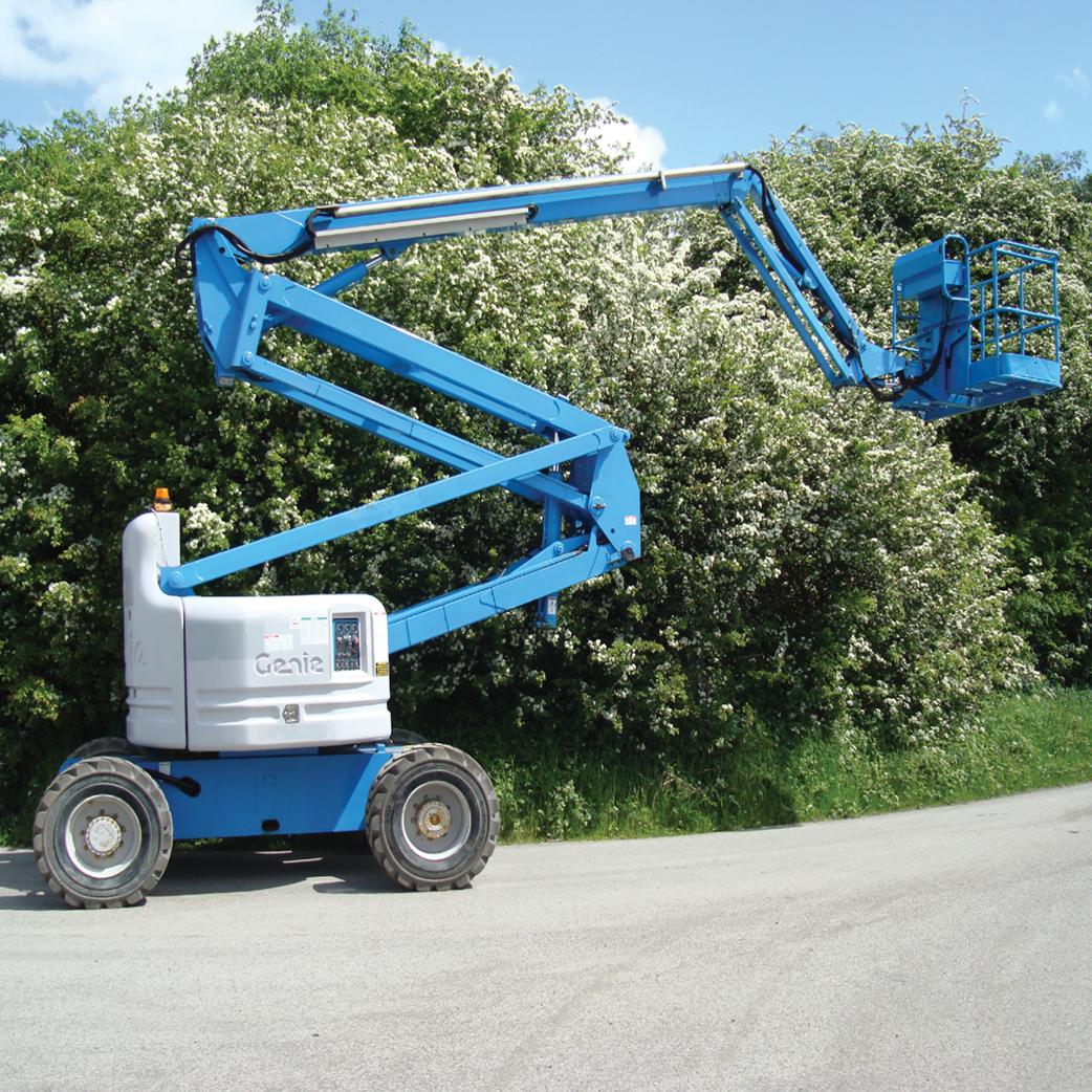 diesel boom lift