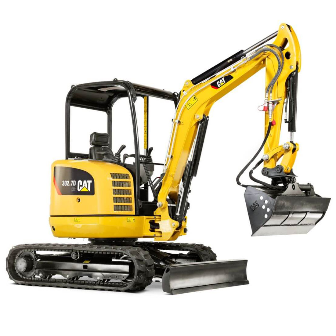 CAT 302.7D Mini Hydraulic Excavator
